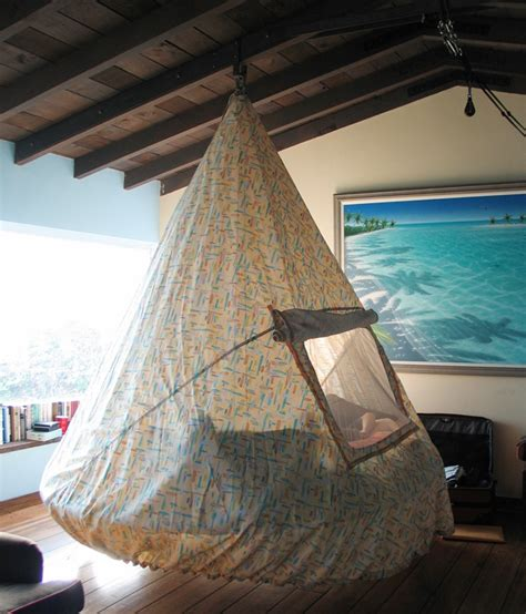 Suspended Hammock Bed by Top 14 Floating Beds Architecture Design