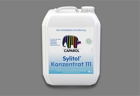 sylitol konzentrat 111 грунтовка концентрат caparol sylitol 111 konzentrat капарол силитол 111 концентрат центр