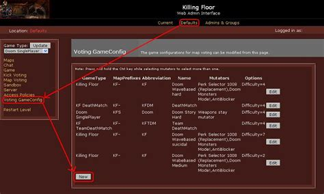 killing floor console commands mod voting handler fix tripwire interactive forums