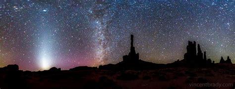 zodiacal light  monument valley arizona todays image