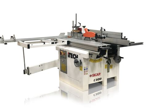 itech  combination woodworking machine  scott