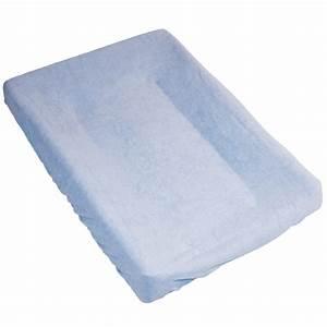 Housse Pour Matelas : housse pour matelas langer bleu de babycalin sur allob b ~ Melissatoandfro.com Idées de Décoration