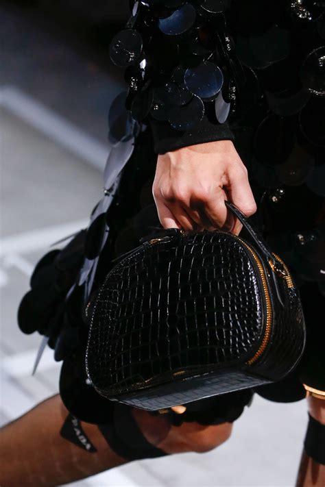 prada springsummer  runway bag collection spotted