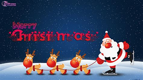 Animated Santa Wallpaper - 1600x900px wallpaper for desktop