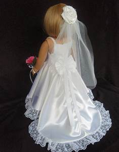 american girl doll clothes wedding gown dress by sewsonancy With american girl doll wedding dress