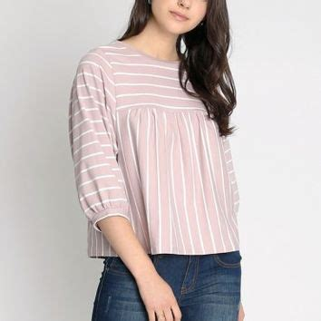ruche cruise dolman sleeve stripe top rosa 46380 blusas jlzvuhf dallas fringe ankle boots at from ruche my wishlist