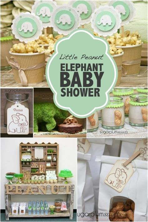 Elephant Baby Shower Supplies - peanut elephant baby shower spaceships and laser