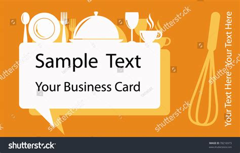 Business Card Banner Design Food Drink Stock Vector Best Business Cards Unique Black And Gold Templates Free To Have Artist Can You Get Made At Walmart Modern Square For Job Seekers