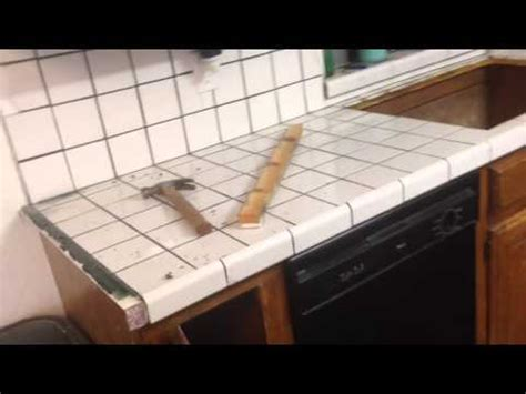 How To Remove Old Tile Countertop  Youtube. Floor Plans For Small Kitchens. Small Kitchen Floor Plan Ideas. Ideas For New Kitchens. Homemade Kitchen Island Ideas. Turquoise Kitchen Island. Cheap Small Kitchen Tables. Kitchen Ideas Pictures Designs. Small Kitchen Dining Room