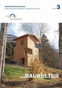 Bdsk Handels Gmbh : baukultur 3 2012 landbaukultur by dai verband deutscher architekten und ingenieurvereine e v ~ Buech-reservation.com Haus und Dekorationen