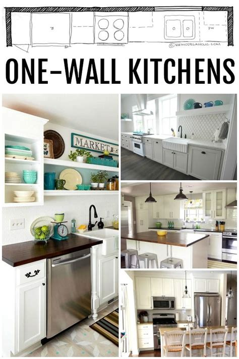 one wall kitchen layout ideas 17 best ideas about one wall kitchen on