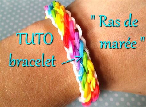 bracelet elastique tuto tuto bracelet 233 lastique raz de mar 233 e