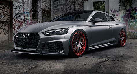Audi Rs5 Grey by Matte Grey Audi Rs5 Is A Smooth Criminal