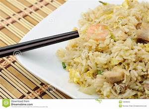 Fried Rice On Plate Royalty-Free Stock Image ...