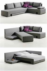 14 pieces of convertible furniture youll actually use for Sectional sofa that turns into a bed