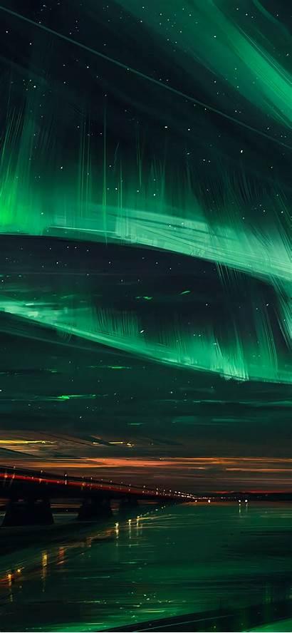 Aurora Wallpapers Oled Digital Iphone Borealis Max