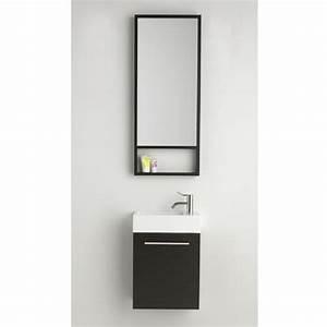 Waschtisch Für Gäste Wc : dansani g ste wc waschtisch set inkl spiegel 40x20x48cm ~ Sanjose-hotels-ca.com Haus und Dekorationen
