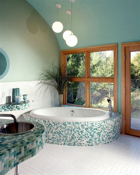 Spa Green Bathroom by 20 Refreshing Bathrooms With A Splash Of Green
