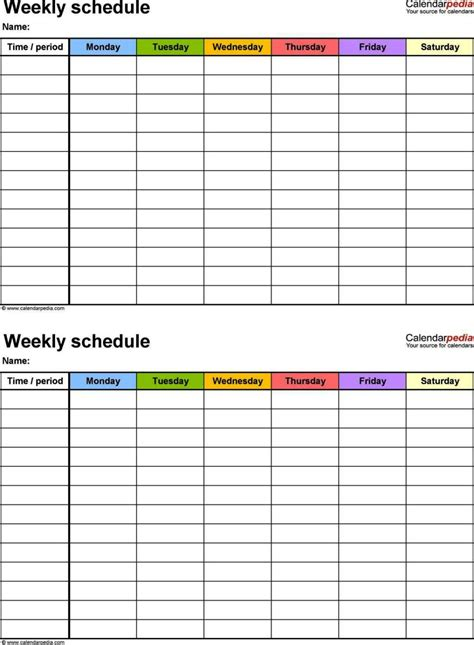 week planner template excel sampletemplatess