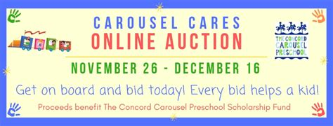 carousel cares 619 | Auction Banner 2018