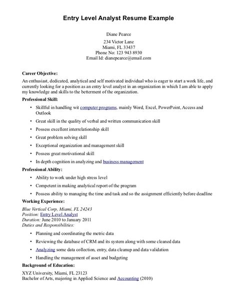 It Security Entry Level Resume by Entry Level Sales Cover Letter