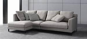 Canapé D Angle 5 Places : canap d 39 angle tissu gris au meilleur prix ~ Teatrodelosmanantiales.com Idées de Décoration