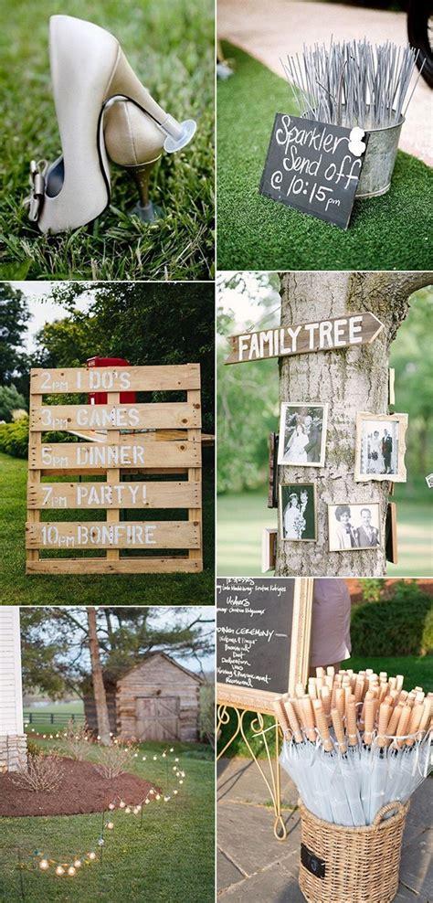 brilliant outdoor wedding decoration ideas