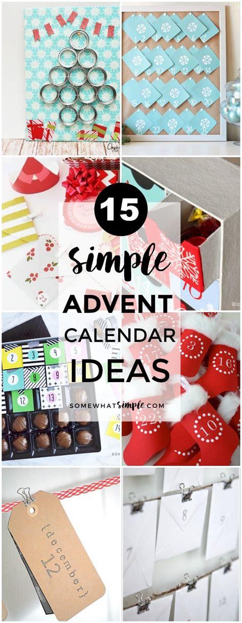 read diy for s 12 diy advent calendar ideas We