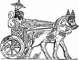 Ancient Mesopotamia Chariot War Clip Assyrian Clipart Coloring Pages Greek Template Parasole Sketch Etc 1024 Weapons Usf Edu Cliparts Sheets sketch template