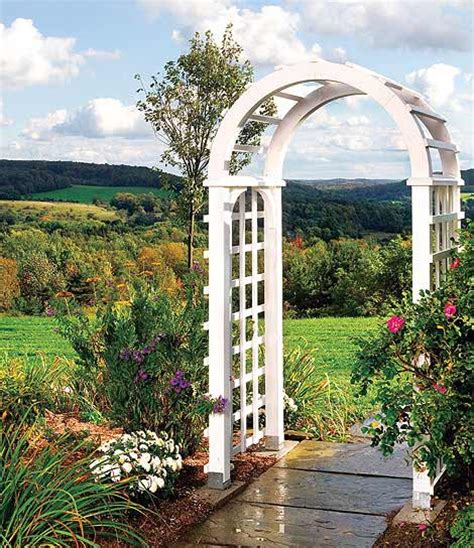 diy garden arch how to build a garden arbor simple diy woodworking project