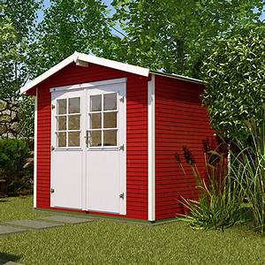 Spiegel 2m X 2m : weka wekaline gartenhaus gr 1 2 65 x 2 6 m wandst rke 28 mm satteldach rot bauhaus ~ Bigdaddyawards.com Haus und Dekorationen