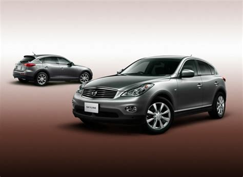 nissan crossover 2010 2010 nissan skyline crossover arrives this summer