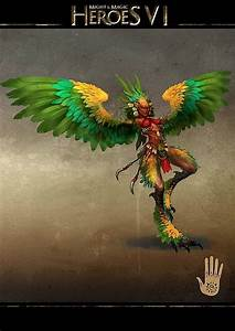 Harpy Ashan Might And Magic Wiki FANDOM Powered By Wikia