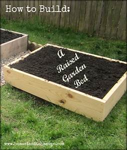 How to build a raised garden bed diy raised garden bed how for How to make a raised garden