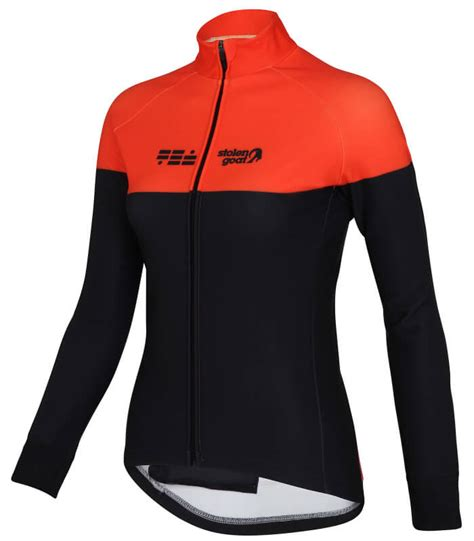 orange cycling jacket buy stolen goat climb and conquer winter cycling jacket