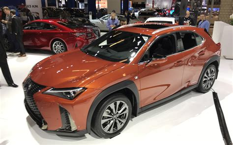lexus ux finally arrives  canada ken shaw lexus