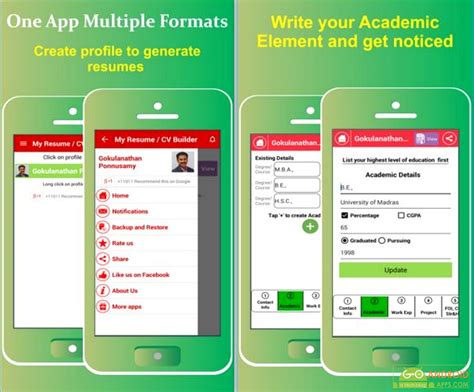 Resume Builder App by 5 Best Business Essential Apps For Android Appinformers