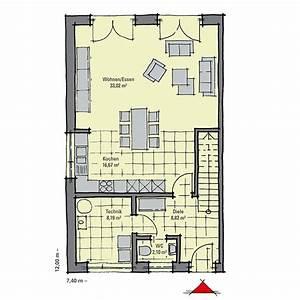 Schmale Häuser Grundrisse : fertighaus dopplehaus im bauhaus stil gussek haus ~ Indierocktalk.com Haus und Dekorationen