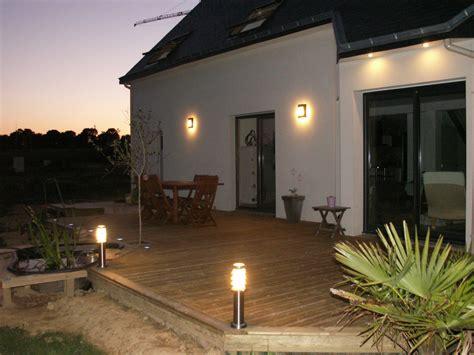 eclairage de terrasse exterieur eclairage terrasse le de jerome et aurore