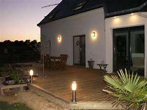 Eclairage Terrasse Piscine : eclairage sol terrasse bois id es de design pour les d corations de terrasses ~ Preciouscoupons.com Idées de Décoration