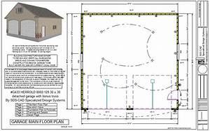 Electrical Plan For Garage : g433 herrold 8002 129 30 x 30 detached garage with bonus ~ A.2002-acura-tl-radio.info Haus und Dekorationen