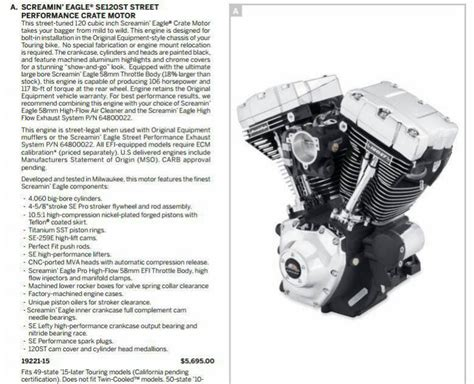 Harley Davidson Crate Engines by New 120st Crate Motor Harley Davidson Forums