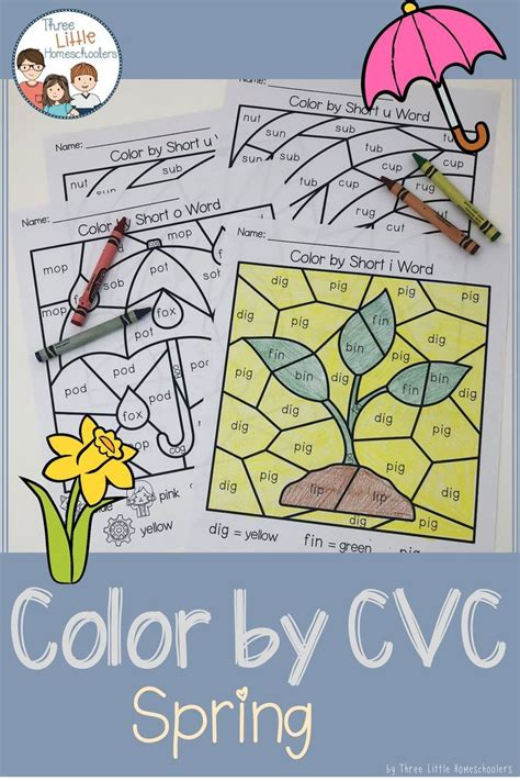 spring color  cvc word  images cvc words spring