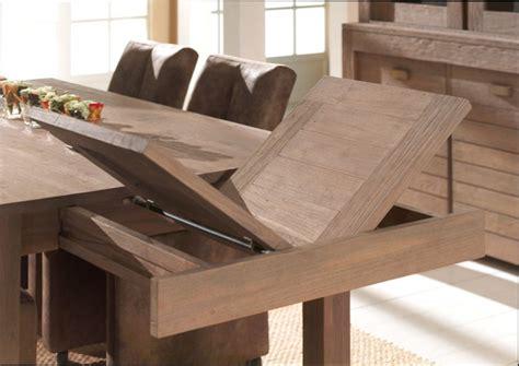 table a manger a rallonge table bois table salle a manger a rallonge en bois
