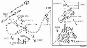 Nissan Xterra Automatic Transmission Shifter Cable  Device