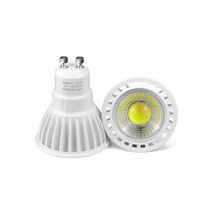 Led Spots Gu10 : gu10 3w 5w 7w cob led bulb spotlight 85 265v 220v 110v led light cob led lamp gu10 aluminum led ~ Orissabook.com Haus und Dekorationen