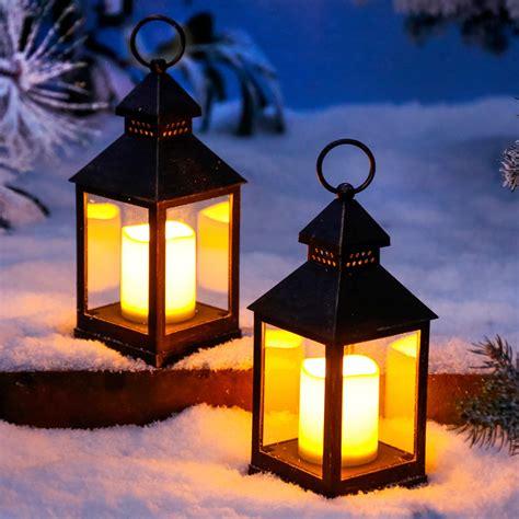 led laterne winterabend kaufen bei g 228 rtner p 246 tschke