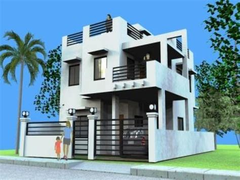 Home Design 3d Roof : 2 Storey Modern House Designs And Floor Plans Tips