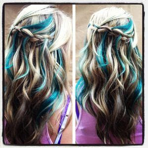 hair style for teenagers 185 best images about contrast hair color on 5298
