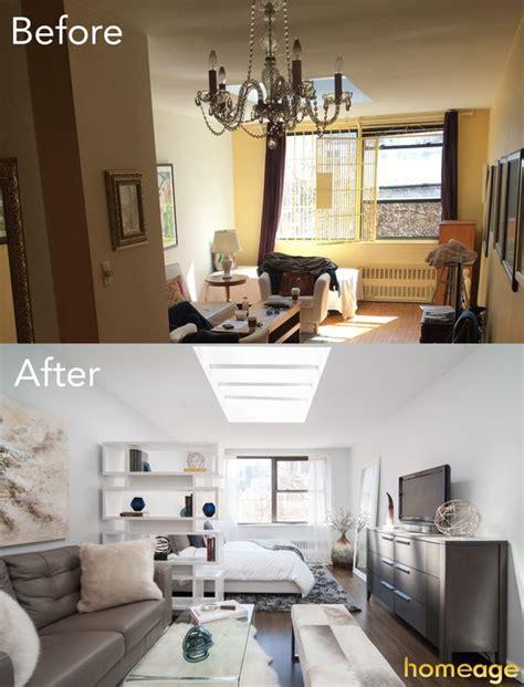 antes  despues de la remodelacion de una casa pequena